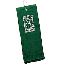 Deluxe Turkish Tri Fold Golf Towel